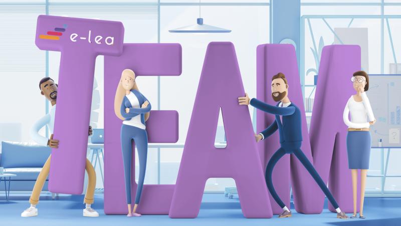 Wspieranie pracowników platformą edukacyjną | e-LEA